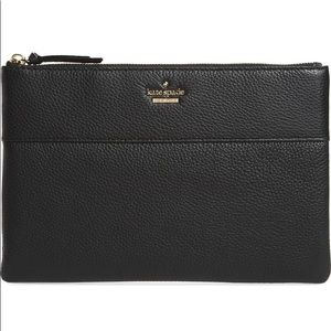 Kate Spade jackson street large mila leather pouch